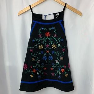 Xhilaration Embroidered Top, Size XL
